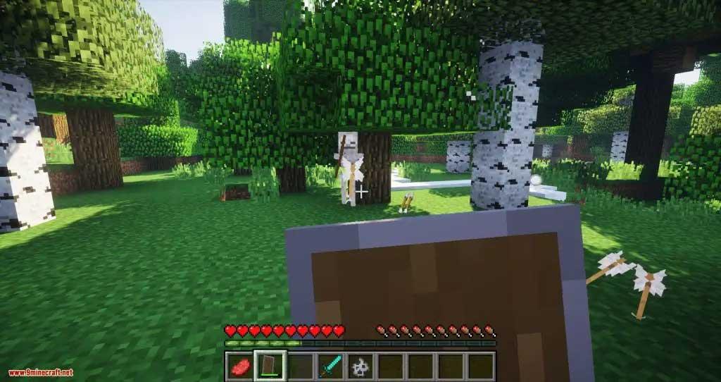 Mod súng Minecraft Combat+