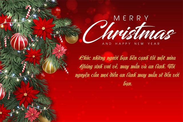Ảnh lời chúc năm mới và Giáng sinh