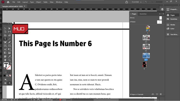 Cách đánh số trang tài liệu