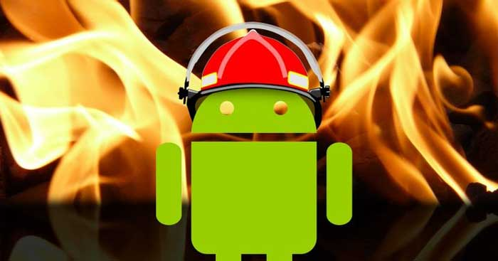 Fix Android overheating