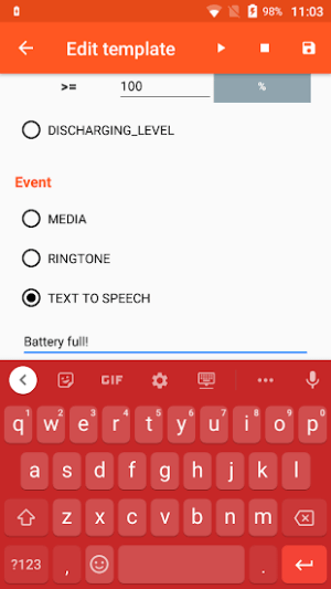 Tùy chỉnh tên tùy chọn