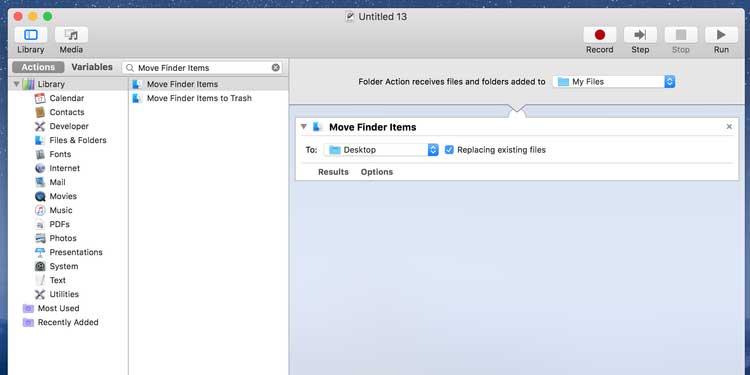 Các tác vụ đang chạy trên macOS