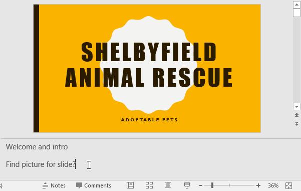Tìm ảnh chèn vào slide nếu bạn muốn