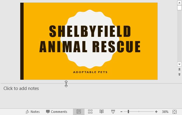 Thêm ghi chú vào slide PowerPoint