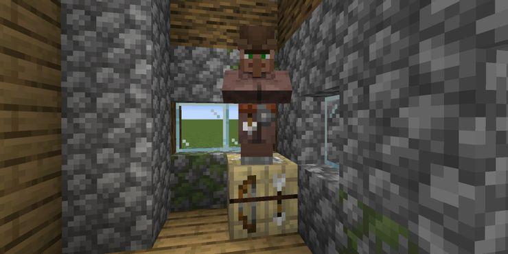 Thợ rèn cung nỏ trong Minecraft