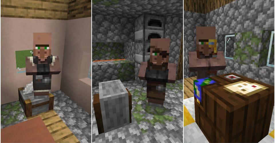 Dân làng Minecraft