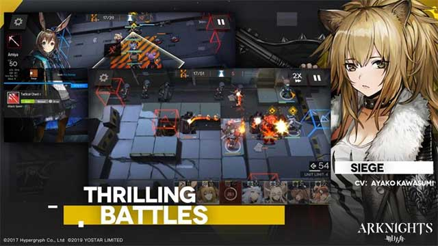 Arknights belongs to a rather unique genre - tower defense combines elements of gacha