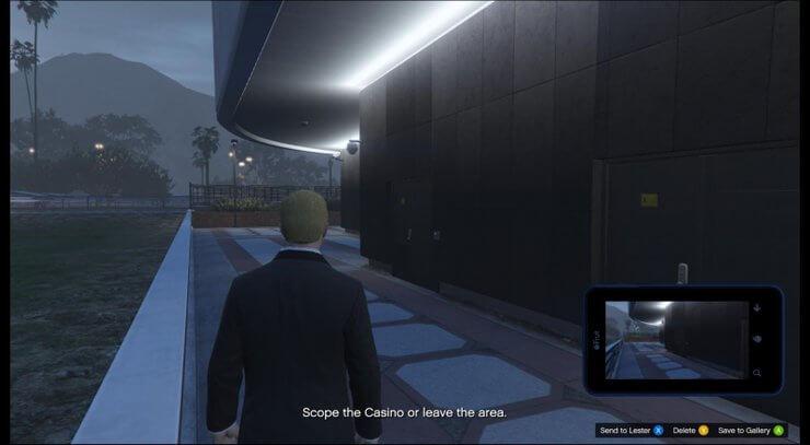 Cửa vào sau tòa nhà trong GTA V