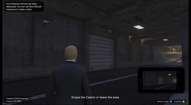 Lối vào casino khi chơi GTA 5