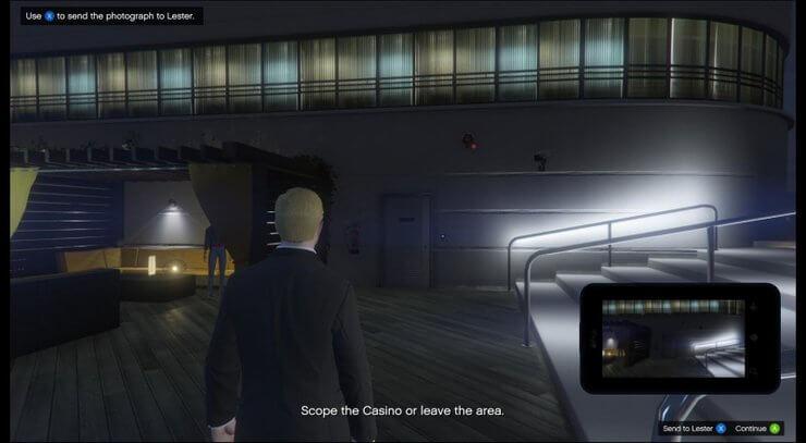 Lối vào casino trong GTA V 4
