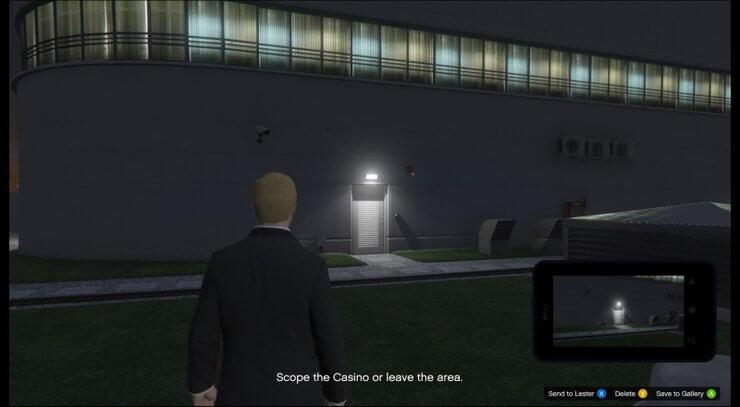 Lối vào casino trong GTA V 6