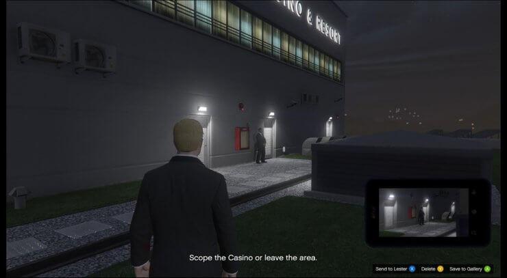 Lối vào casino trong GTA V 7