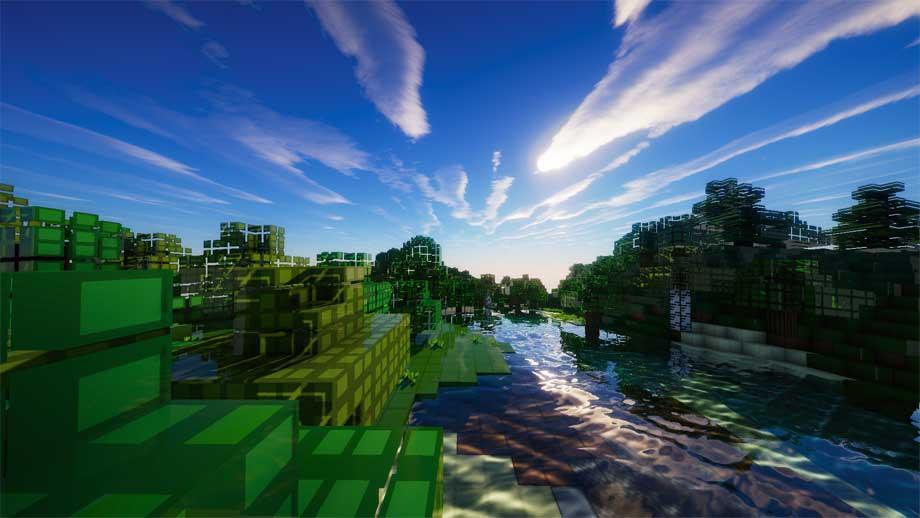 Shader Minecraft đẹp