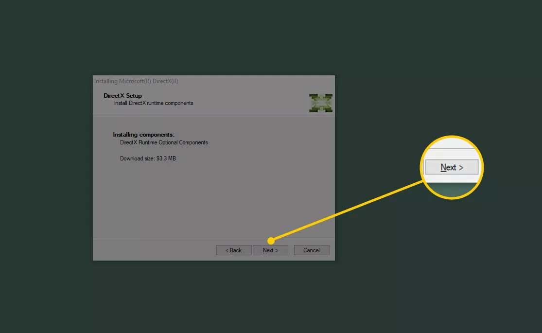 Cài đặt DirectX trên PC