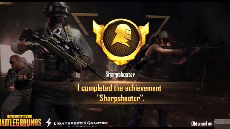 Danh hiệu Sharpshooter trong PUBG Mobile