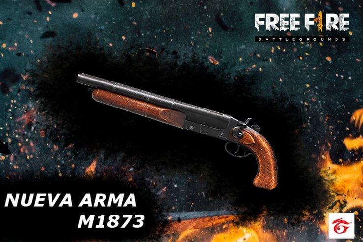 Súng Free Fire M1873