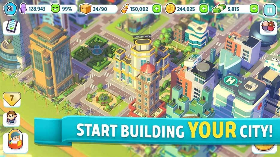 Game xây dựng thành phố