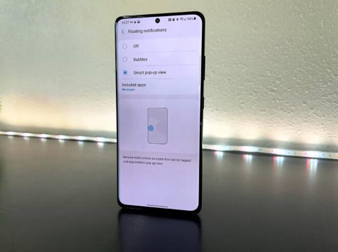 Thêm hiệu ứng vào cuộc gọi video trên Galaxy S21