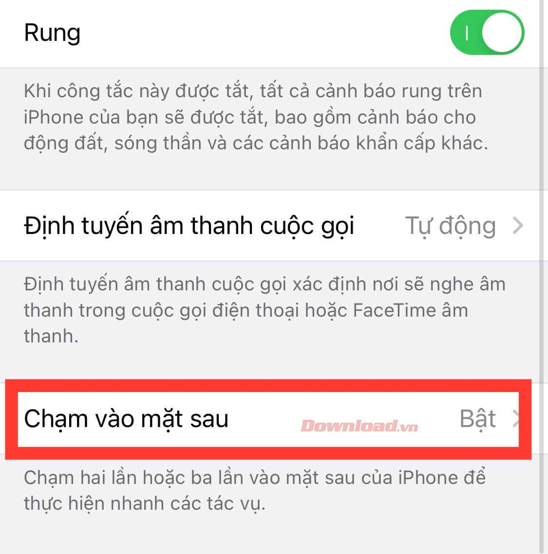 Back Tap iOS 14