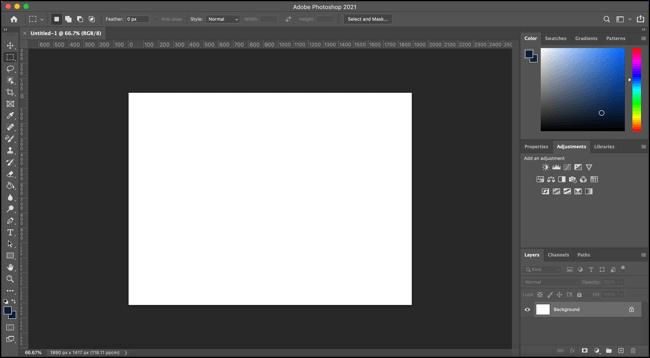 Các chế độ màn hình trong Photoshop