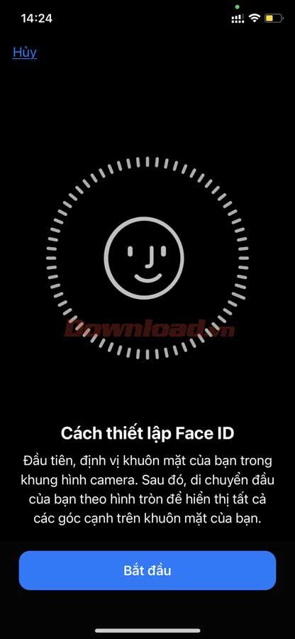 Thêm Face ID thứ hai trên iOS 12