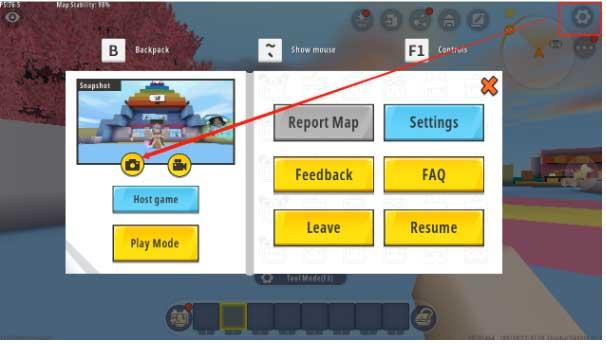 Chỉnh sửa hình đại diện bản đồ bạn tạo trong Mini World