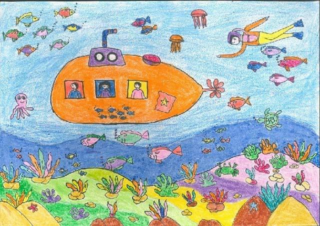 Hoà mình dưới đại dương bao la, cùng những chuyến tàu ngầm đi khám phá muôn nơi.