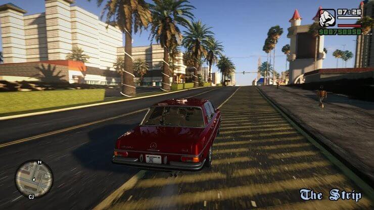 Mod game GTA San Andreas