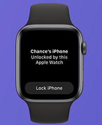 Cách mở khoá iPhone bằng Apple Watch khi đeo khẩu trang
