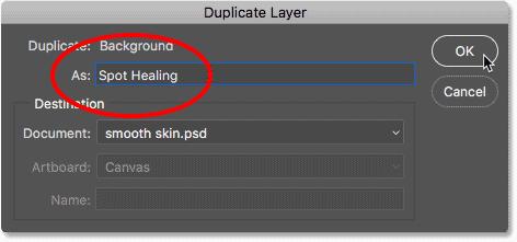Spot Healing trong Photoshop