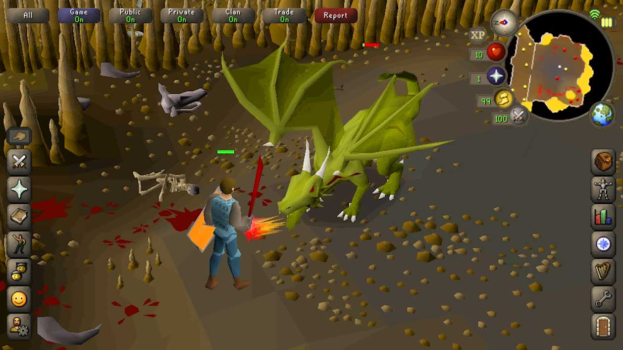 Game multiplayer mobile Old School RuneScape