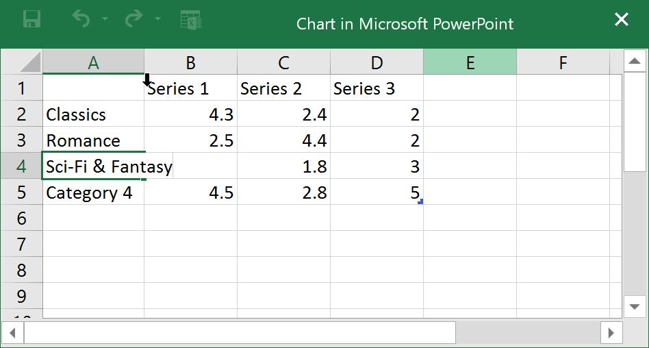 Nhập dữ liệu vào bảng tính Excel