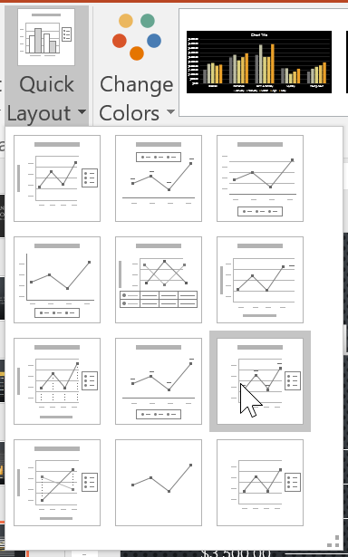Quick Layout trong PowerPoint