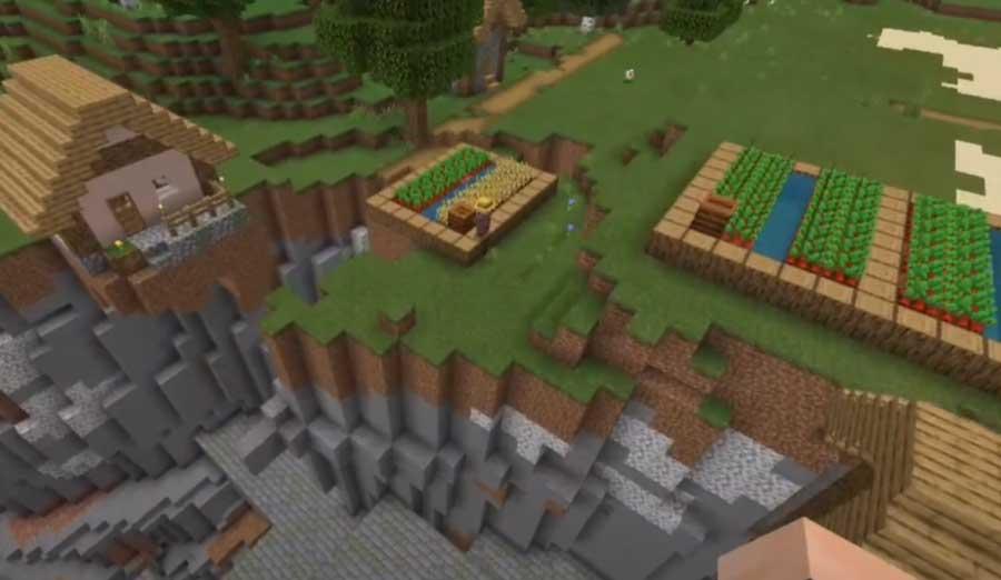 Seed Minecraft PE đẹp