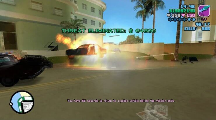 GTA Vice City cheat codes Mã
