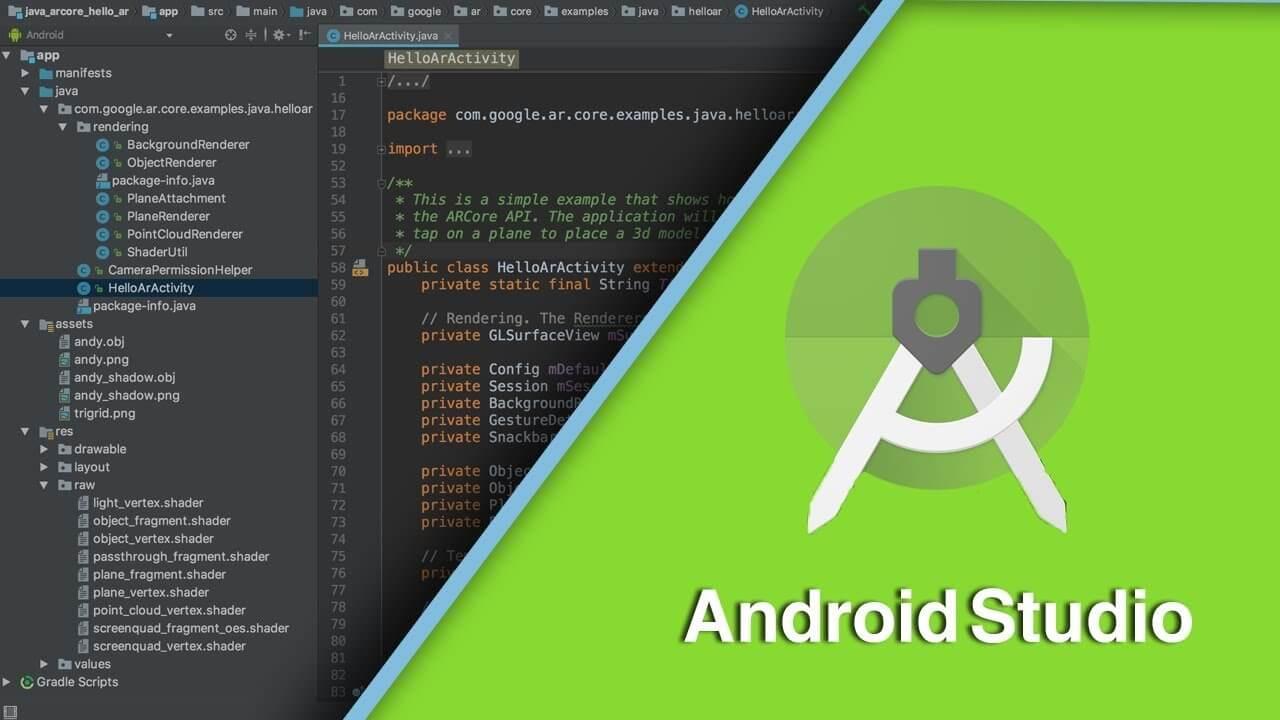 Android Studio là nền tảng lập trình mặc định cho Android