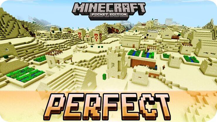 Seed Minecraft Desert Village