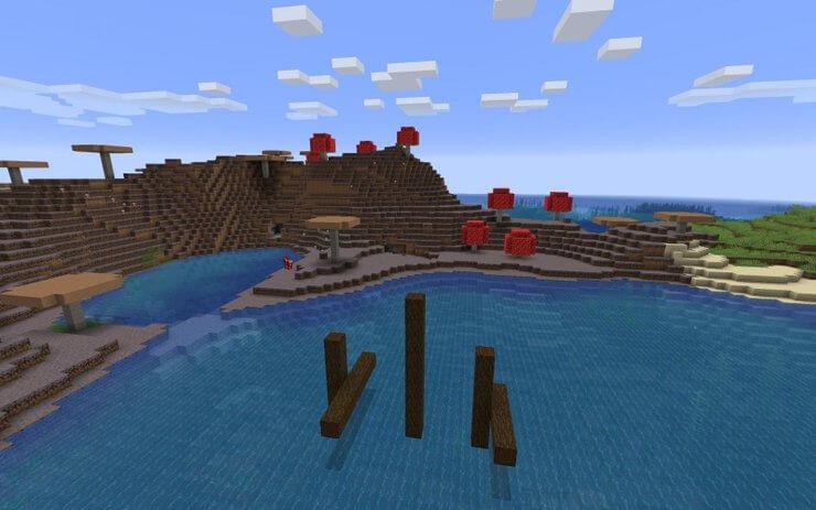 Mã seed Mushroom Island