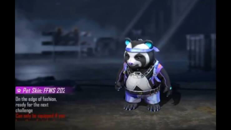 Skin Panda FFWS 2021