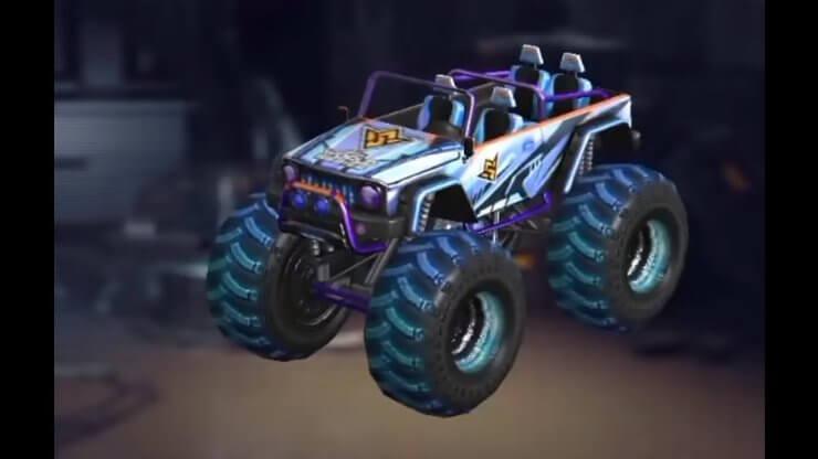 FFWS 2021 Monster Truck