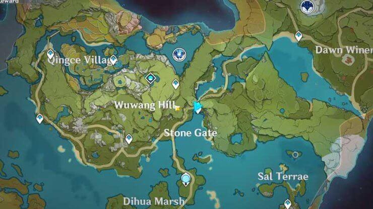 Map in Genshin Impact