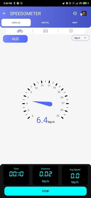 Thước đo tốc độ