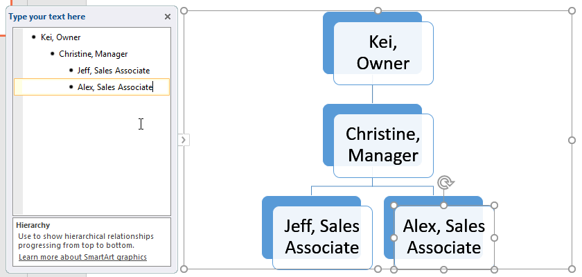 Xóa SmartArt trong PowerPoint