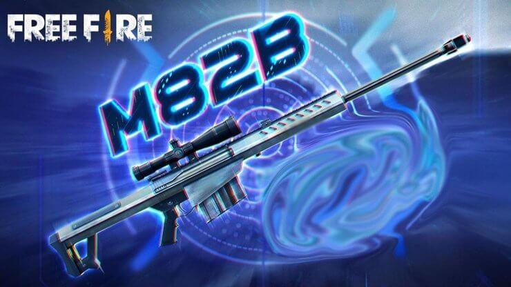 Free Fire M82B