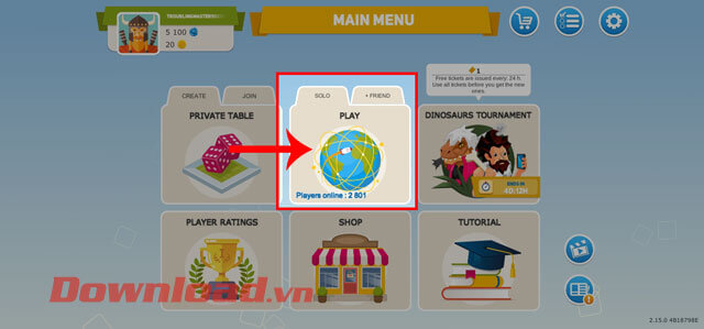"""<p><strong>Step 2:</strong> At the main interface of the game, choose how to play <strong>Solo</strong> or""""/></div> </li> <li> <div class="""