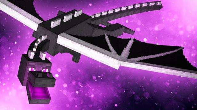 Bạn hoàn thành Minecraft speedrun khi giết chết Ender Dragon