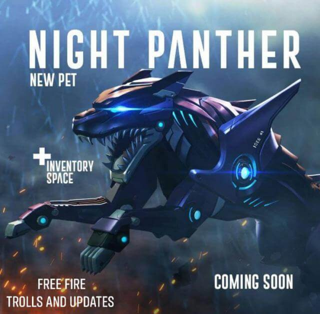 Night Panther pet helps you increase backpack capacity