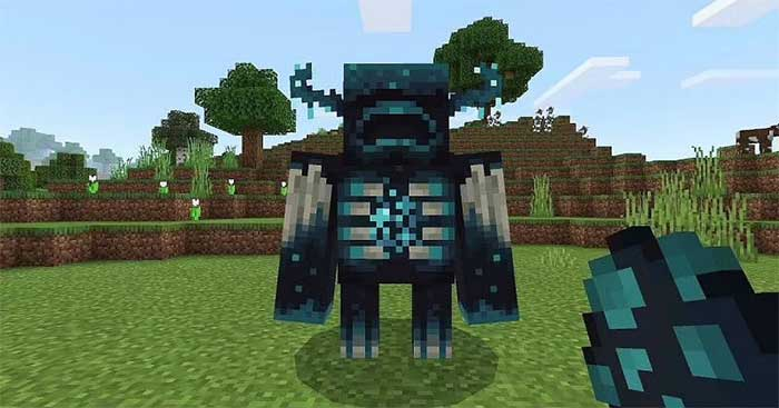 Warden is a pretty dangerous mob in Minecraft