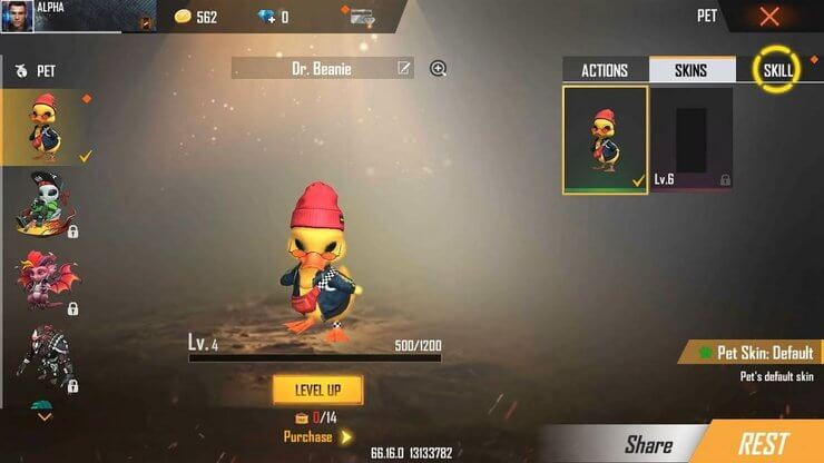 Introducing Dr.Beanie in Free Fire OB28