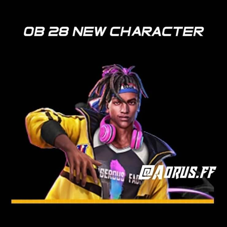 D-Bee character in Free Fire